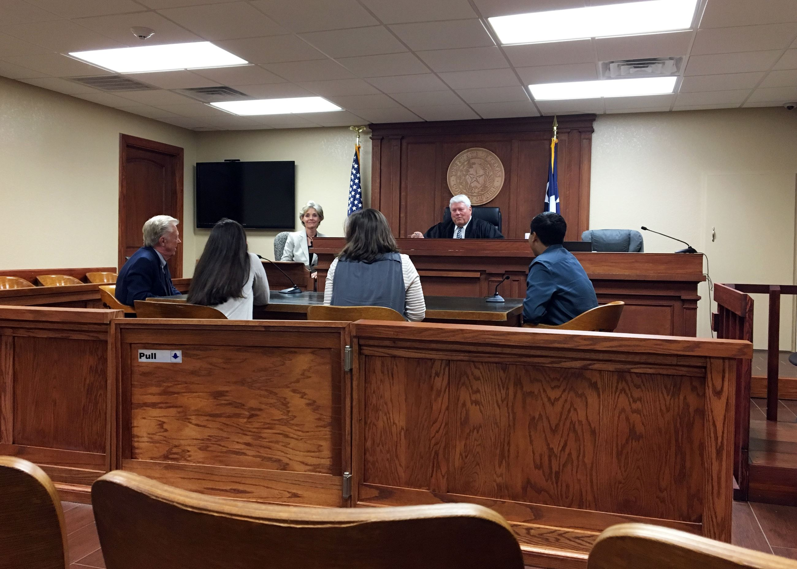Mayor's Youth Advisory Council visits Kerr County Juvenile Court