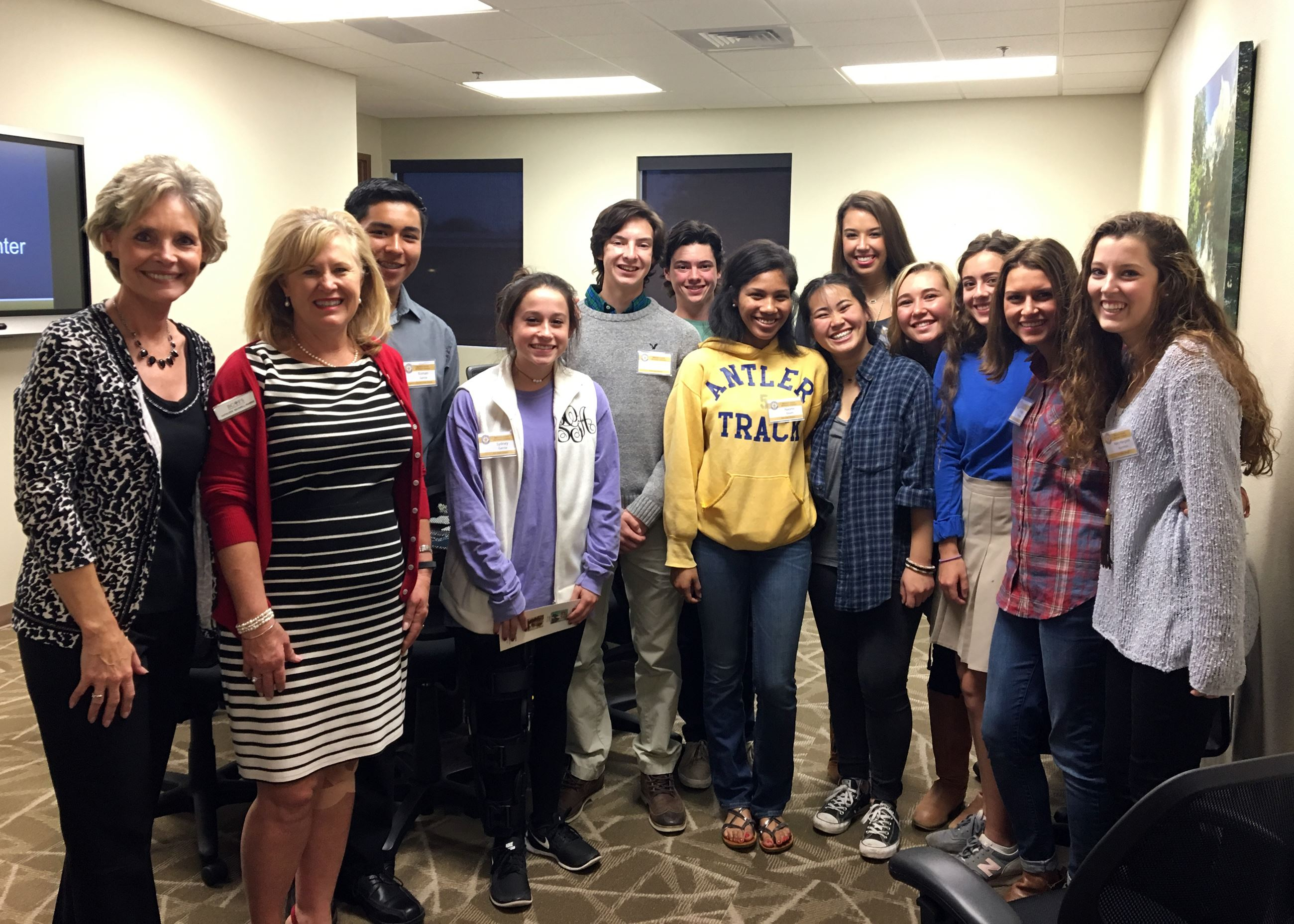 Mayor's Youth Advisory Council visits BCFS