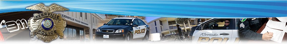 Police Department | Kerrville TX - Official Website