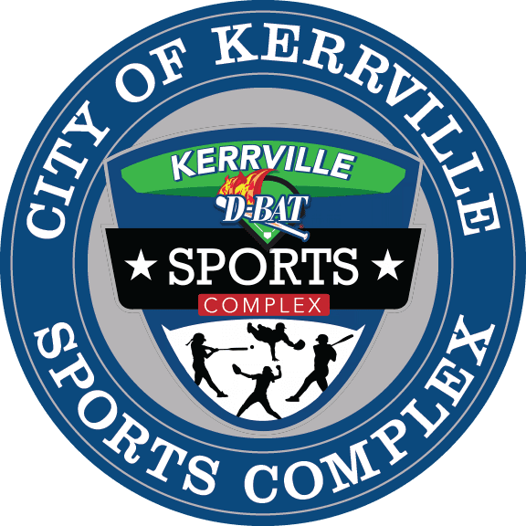 LOGO - City of Kerrville - Sports Complex - D-BAT