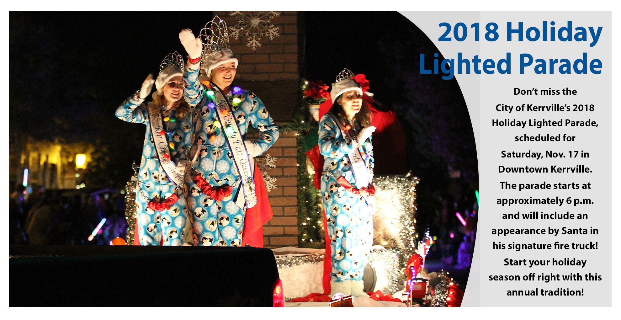 2018 Holiday Lighted Parade