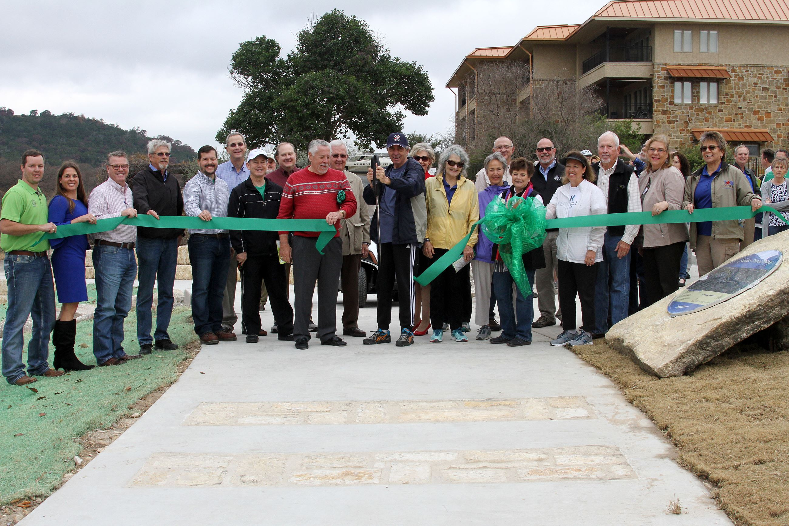 River Trail RIbbon Cutting