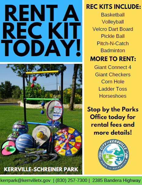 Rec Kit Flyer Image
