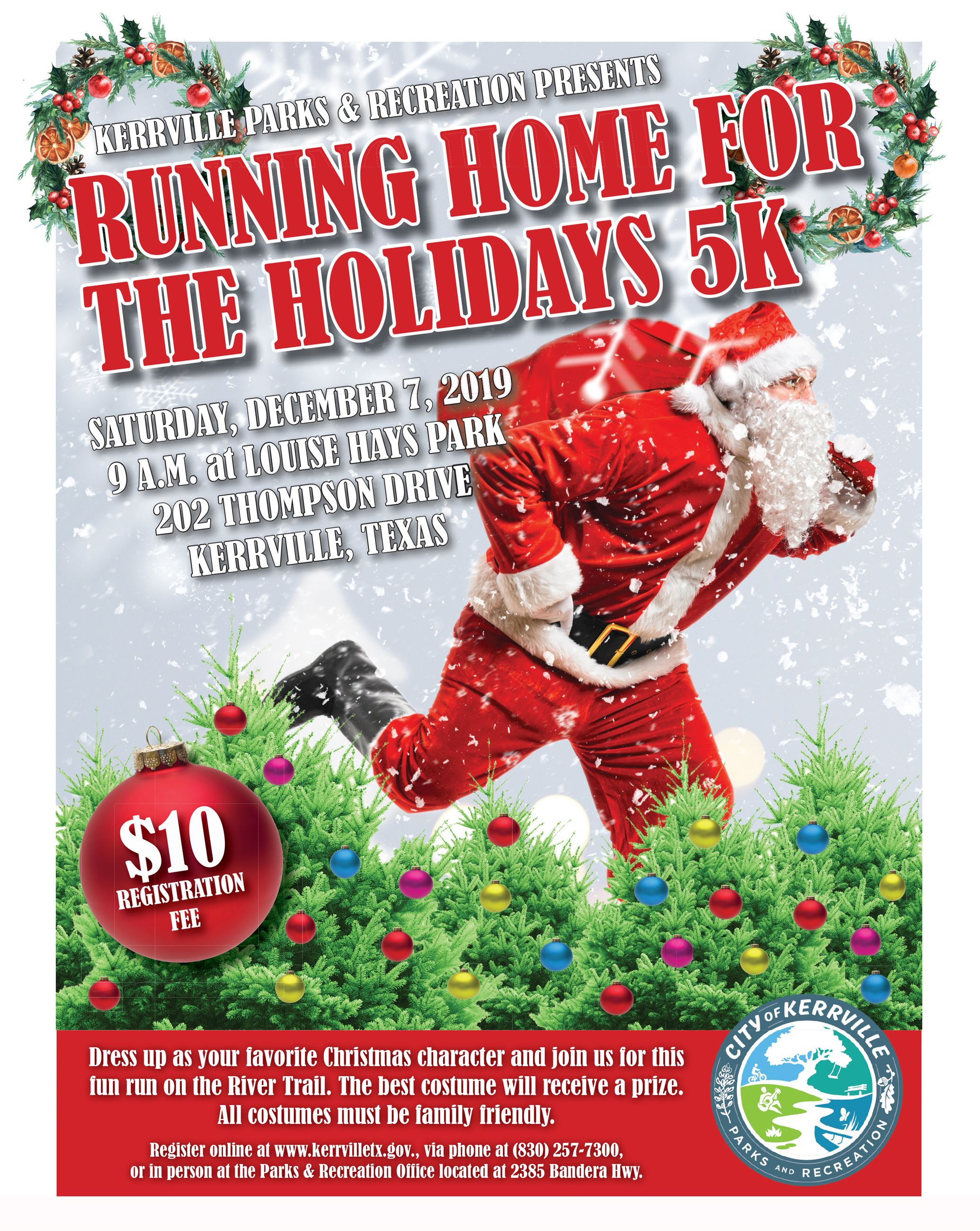 Running Home for the Holidays 5K