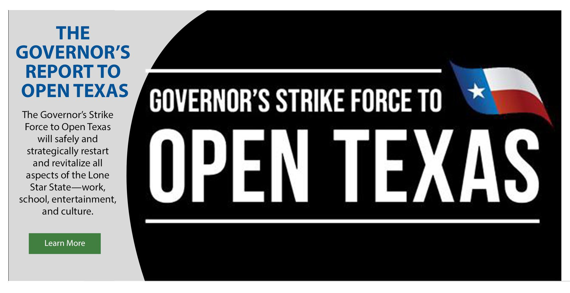 Governor' Report - Open Texas