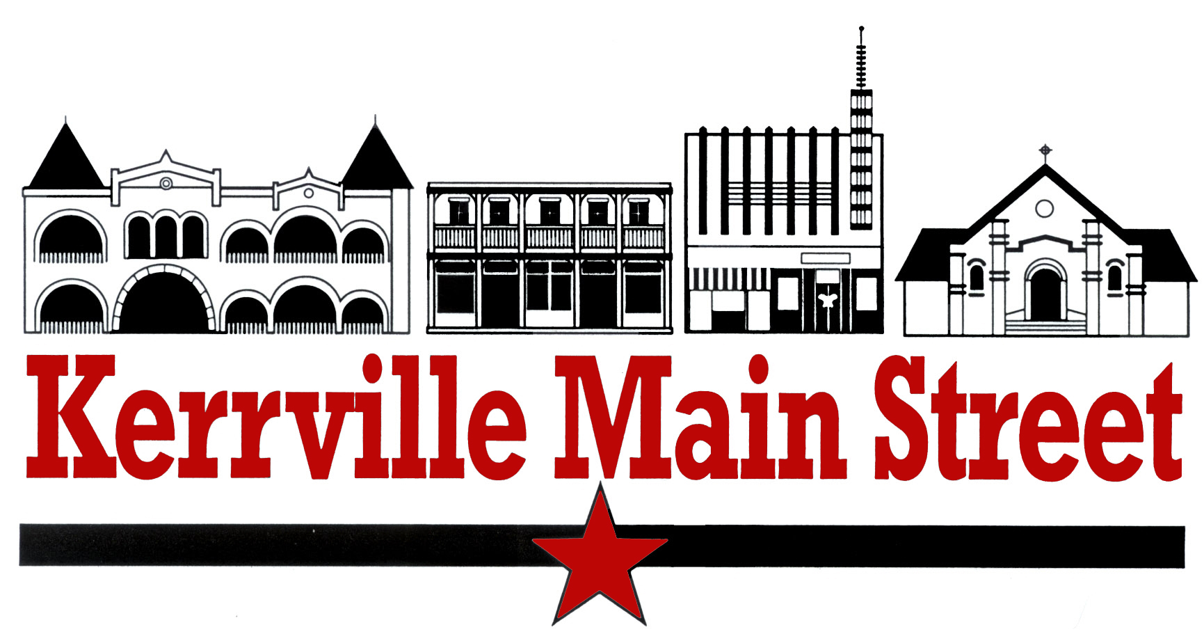 Kerrville Main Street Logo - Red, Black and White copy.jpg